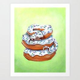 Dougha Constrictor Art Print