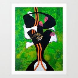 Ataraxia (oil on canvas) Art Print