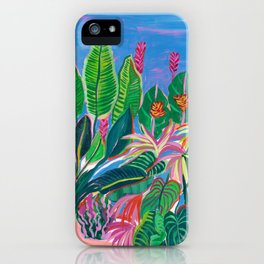 Tropical Patio iPhone Case