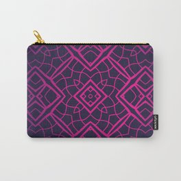 Lovely Lace Geometric Carry-All Pouch