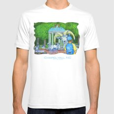 Locals Only  - Chapel Hill, NC Mens Fitted Tee MEDIUM White