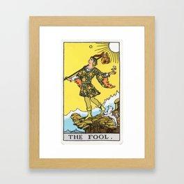 00 - The Fool Framed Art Print