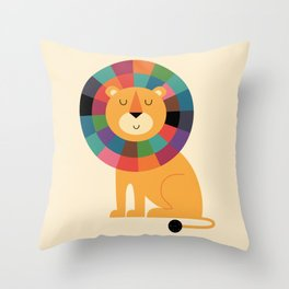 Mr. Confidence Throw Pillow