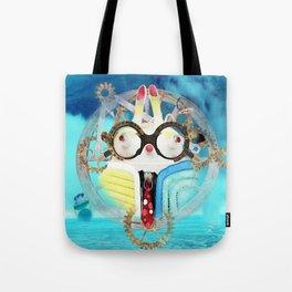 Time Bunny Voyage Tote Bag