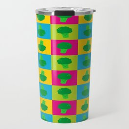 Popart Broccoli Travel Mug