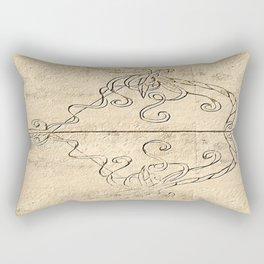 Artemis' Bow Rectangular Pillow
