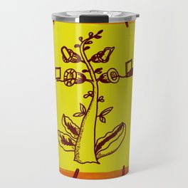tree with a computer , telephone and other device . https://society6.com/vickonskey/s?q=popular+prin Travel Mug