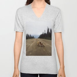 Road Fox Unisex V-Neck