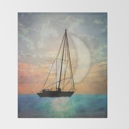 Sail Away With Me Throw Blanket