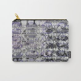 Post-Digital Tendencies Emerge (P/D3 Glitch Collage Studies) Carry-All Pouch