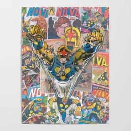 Nova Comic Art Poster