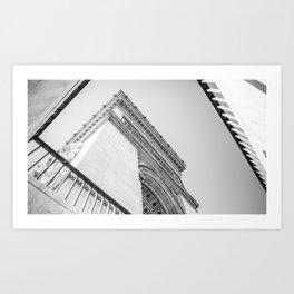 Champs-Élysées Art Print
