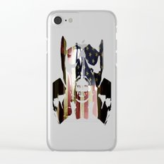 Casting Long Shadows Clear iPhone Case