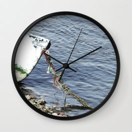 Rusty Chain Wall Clock
