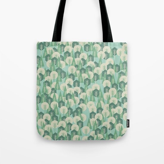Geometric Woods Tote Bag