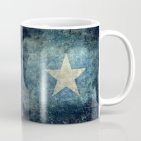 islam Mugs featuring Somalian national flag - Vintage version by Bruce Stanfield