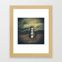 His Refuge Framed Art Print