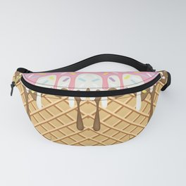 Neapolitan Ice Cream with Sprinkles Fanny Pack