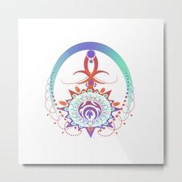 Dreamcatcher of Sun and Stars Metal Print
