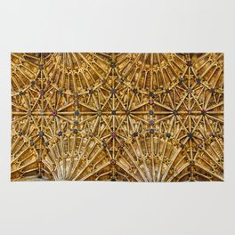 Fan Vaulted Ceiling Rug