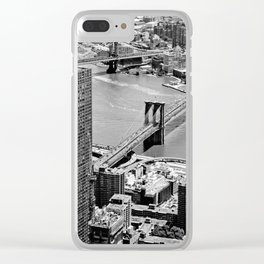 Brooklyn Bridge View - New York City Clear iPhone Case