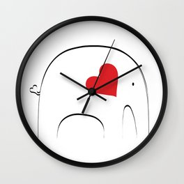 Japanese Elephant Wall Clock