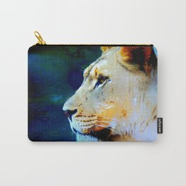 Artsy Lion Carry-All Pouch