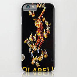 Vintage poster - Isolabella iPhone Case