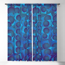 2006 Blue multification ... Blackout Curtain
