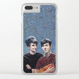 Russian gift Clear iPhone Case