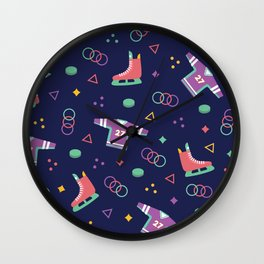 Hockey Fans Wall Clock