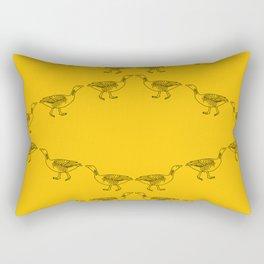 Marching Geese Rectangular Pillow