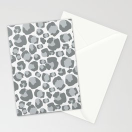 Snow Leopard Feline Stationery Cards