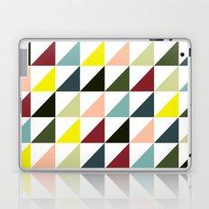 Mid-century triangles Laptop & iPad Skin
