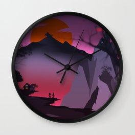 The Dragon Mountain Wall Clock
