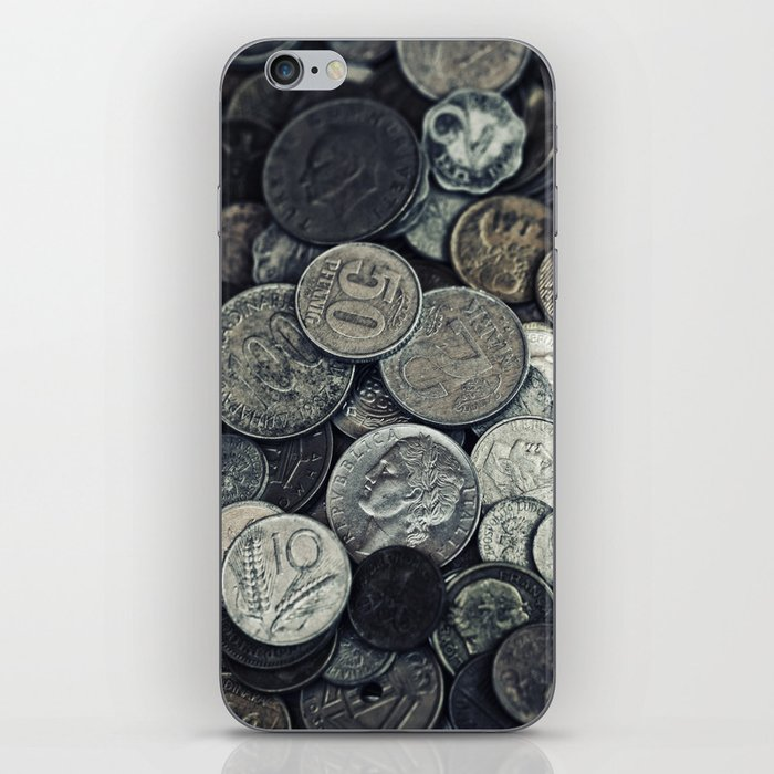 Money, money ,money iPhone Skin