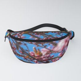 Blooming Plum Tree (1) Fanny Pack