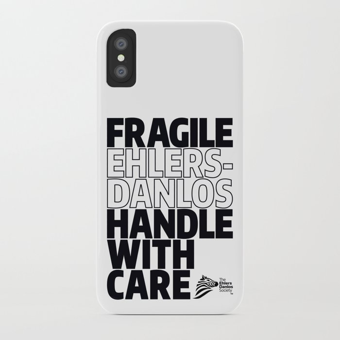 Eds Awareness Fragile Iphone Case