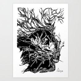 Deserted Heart Art Print