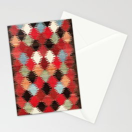 Khaladj Azerbaijan Northwest Persian Kilim Print Stationery Cards