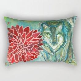 Wolf: Fierce Hope Rectangular Pillow