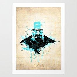 """[Im] [Da] [Dn] [Gr] ... """"I am the Danger"""" [Heisenberg] Art Print"""