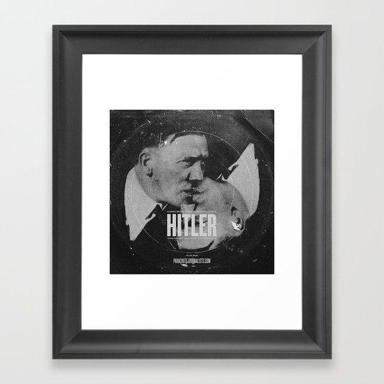Parachute Journalists - Hitler Framed Art Print