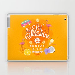 Let the Sunshine in 1 Laptop & iPad Skin