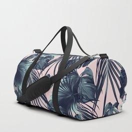 Tropical Jungle Leaves Dream #2 #tropical #decor #art #society6 Duffle Bag