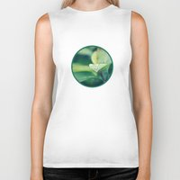 leaf Biker Tanks featuring Leaf by Crazy Thoom