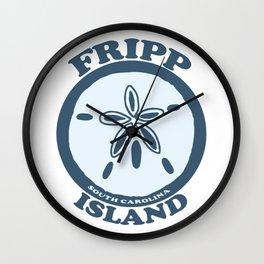 Fripp Island - South Carolina. Wall Clock