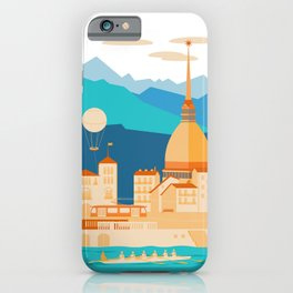 Turin Skyline iPhone Case