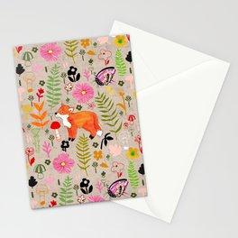 Woodland Fox Stationery Cards