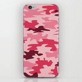 Camouflage Print Pattern - Pinks & Purples iPhone Skin